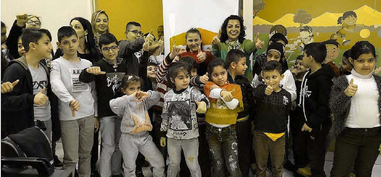 Safe World Peace, enfants